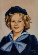 Shirley Temple - Four Pieces of Fan Art.  A wonderful s