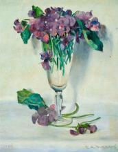 Two Elbridge Ayer Burbank Paintings Presented by the Ar