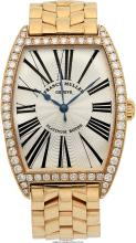 Franck Muller Gentleman's Diamond, Gold Automatic Master of Complications Watch