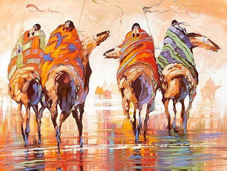 Native Americans on Horseback