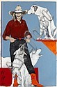 Cowgirl with Dogs, Donna Howell-Sickles, Click for value