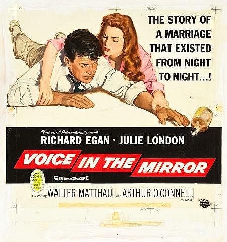 Voice in the Mirror (Universal International, 1958). Re