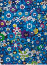Takashi Murakami (b. 1962) An Homage to IKB 1957 C, 2012 Offset lithograph in co