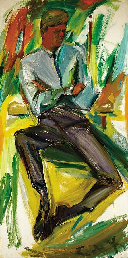 ELAINE DE KOONING (American, 1919-1989) Portrait