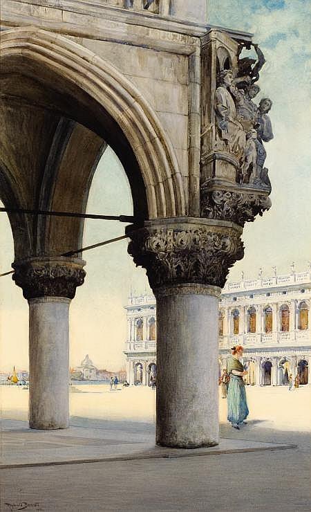 REGINALD BARRATT (British, 1861-1917) Detail of