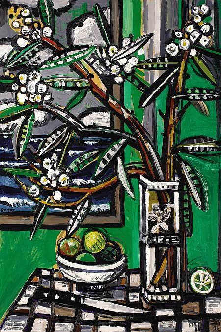 DAVID BATES (American, b. 1952) Oleander -
