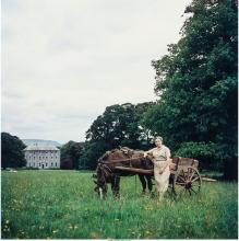 SLIM AARONS (AMERICAN, 1916-2006) ELIZABETH BOWEN, 1962 DYE COUPLER, PRINTED LAT