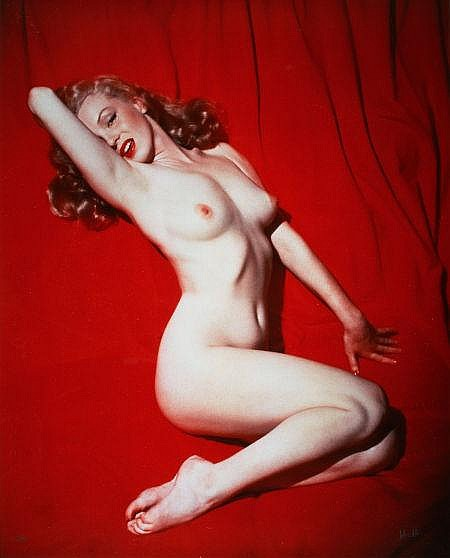 TOM KELLEY (American, b. 1914) Marilyn Monroe, 1949 Dye