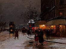 Edouard-Léon Cortès (French, 1882-1969) Avenue de la Rè
