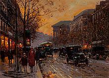 Edouard-Léon Cortès (French, 1882-1969) Boulevard de la