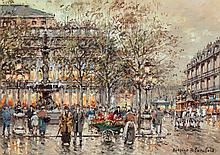 Antoine Blanchard (French, 1910-1988) Place du Palais R