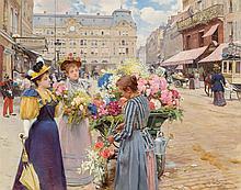 Louis Marie de Schryver (French, 1862-1942) Paris - La