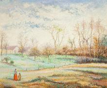 Hughes Claude Pissarro (French, b. 1935) Le bois Mailla