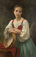 William Adolphe Bouguereau (French, 1825-1905) Bohémien