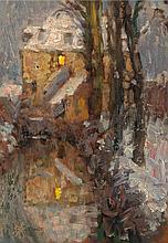 Henri Eugène Le Sidaner (French, 1862-1939) Le Canal, N