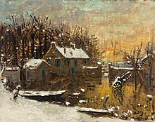 Pierre Eugène Montezin (French, 1874-1946) Paysage sous