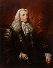 Jacob Thompson (British, 1806-1879) Portrait of Lord La