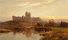 Alfred de Bréanski (British, 1852-1928) Windsor Castle