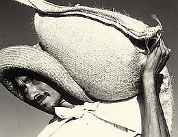 NED SCOTT (American, 1907-1964) Man with Feedsack,