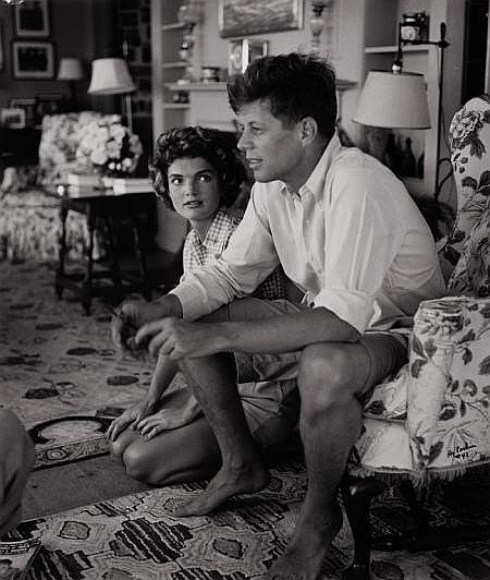HY PESKIN (American, 1915-2005) Jackie and JFK,