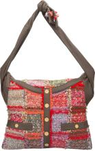 Chanel Multicolor Boucle Tweed & Leather Girl Bag Excel