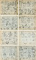 Snow White and the Seven Dwarfs Printed Model Sheet Gro