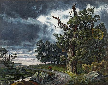 BRONISLAW JAMONTT (Polish, 1886-1957) Romantic