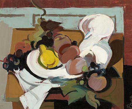 OTTO BOTTO (Swiss/American, 1903-1967) Still life