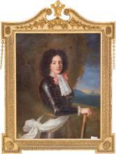 An Oil on Canvas Portrait of Louis, Count Vermandois, a