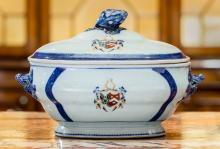 A Chinese Export Porcelain Soup Tureen, early 19th cent
