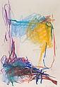 JOAN MITCHELL (American, 1926-1992) Untitled Pastel on