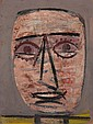 ARSHILE GORKY (American, 1904-1948) Untitled (Head), c.