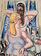 PAUL KLEINSCHMIDT (German, 1883-1949) At the Vanity, 19
