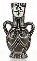 PABLO PICASSO (Spanish, 1881-1973) Vase deux anses haut