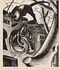 Agnes Miller Parker. Over the Blacksmith's Shop., Agnes Miller Parker, Click for value
