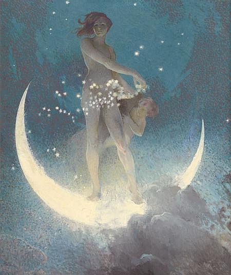Blashfield, Edwin Howland - Spring Scattering Stars