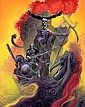 Corben, Richard - City of Thieves, paperback cover, Richard Vance Corben, Click for value