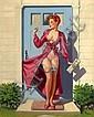 Frahm, Art - Caught in the Door, Art Frahm, Click for value
