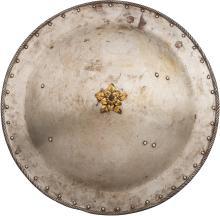 Victorian-Era Decorative Continental Shield. 22 ¾-inche