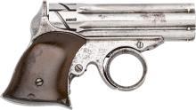 Remington Elliott Zig Zag Pepperbox Derringer.  Serial