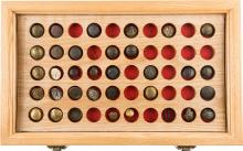 Collection of 31 Military Buttons Including Confederate