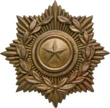 Army of the Republic of Texas Shako Plate, Circa 1835-1