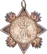 Battle of Bunker Hill: Silver Medal for Gallantry from