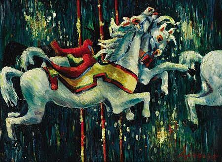 LLOYD LOZES GOFF (American, 1908-1982) State Fair