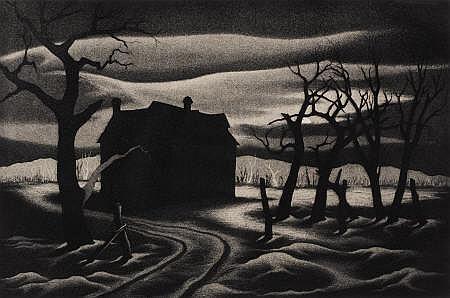 JESSE JAY MCVICKER (American, 1911-2004) Nocturne,