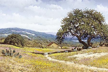 RANDY PEYTON (American, b. 1958) The Landscape