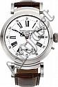 Swiss Custom Oversize Steel Wristwatch With Hinged Lugs