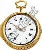 George Tyler London Rare and Unique Gold Clock Watch Pr