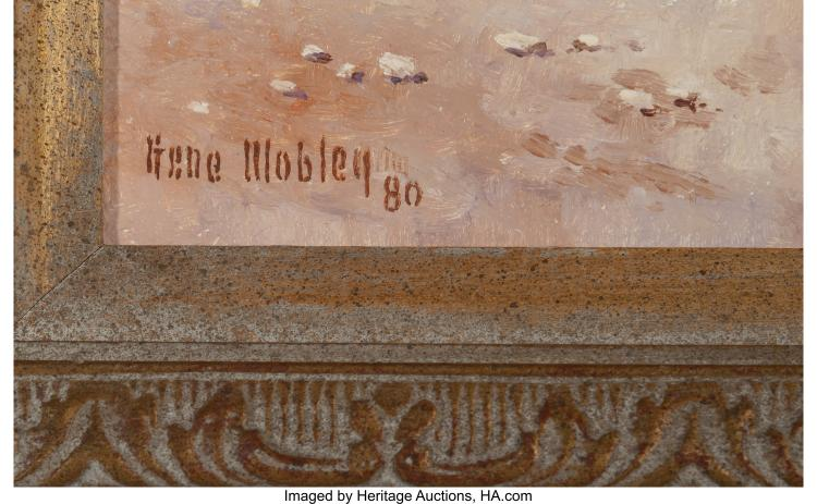 Gene Renner Mobley American 20th Century Plains Indians W