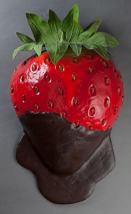 PETER ANTON (American, b. 1963) Dark Chocolate Strawber